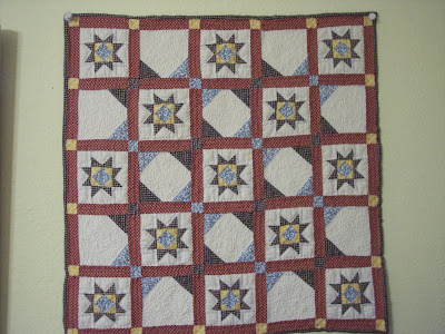 Red, White and Blue Little Quilt