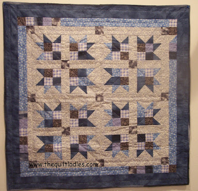 Little Boys Baby Quilt handmade and hand quilted