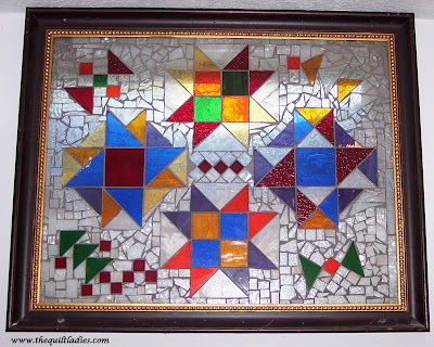 Stain Glass Windows in Picture Frames