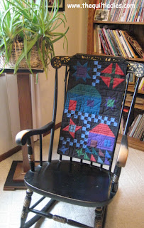 Quilted Rocking Chair Back