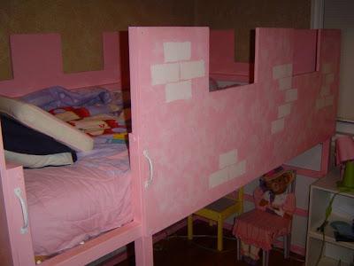 Bunk Bed Castle Curtain