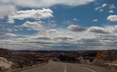 SR89 west Grand Staircase Escalante National Monument Utah
