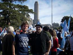 Apoyando al Campo en Rosario!