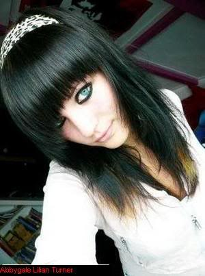 Modern Medium Emo Hairstyles for Girls 2010