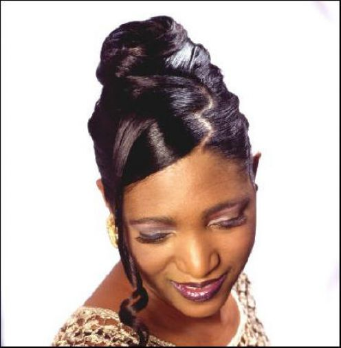 Wedding hairstyles for black women hair