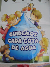 CUIDEMOS  CADA GOTA DE AGUA