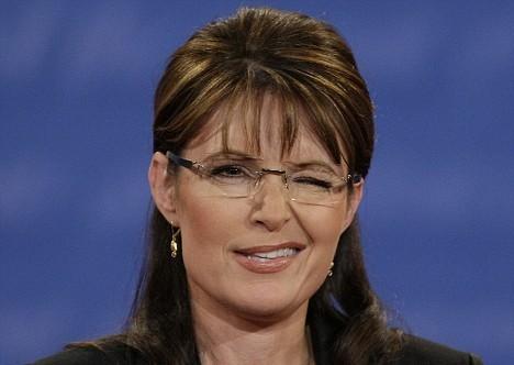 sarah palin glasses brand. Sarah Palin has clawed her