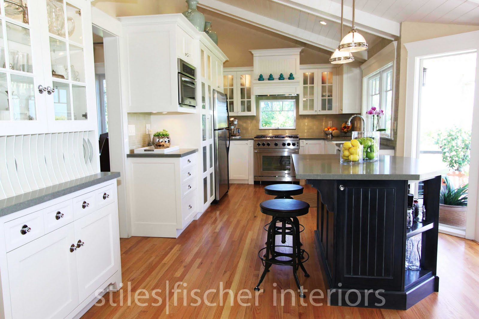 cabinet doors match the dining room paneling style clear glass cabinet
