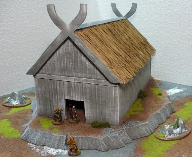 The Man Cave Diy Viking Longhouse
