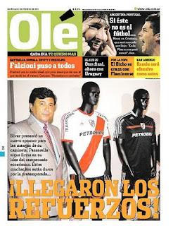Diario Ole contra Daniel Passarella River Plate