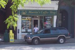 photo of Martin's Coffee Shop, Brookline, MA