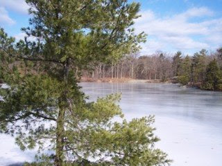 photo of High Service Reservoir, Middlesex Fells, Stoneham, MA