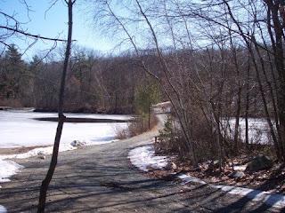 photo of Powissett Pond, Hale Reservation, Westwood, MA