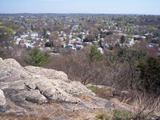 photo from Black Rock, Middlesex Fells, Melrose, MA