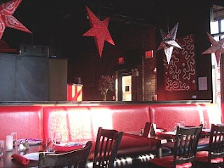 photo of interior of Bella Luna and Milky Way Lounge, Jamaica Plain