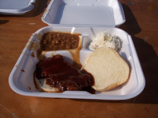photo of boneless rib sandwich, Johnson's (Virginia)