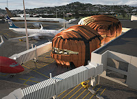 The Rock - Wellington International Airport - exterior