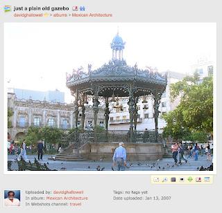 Kiosko de la plaza de armas de Guadalajara