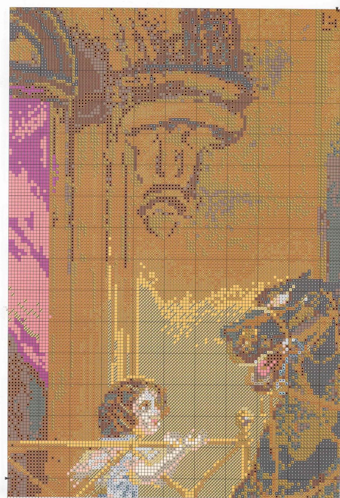 Вышивка на канве брюллов всадница