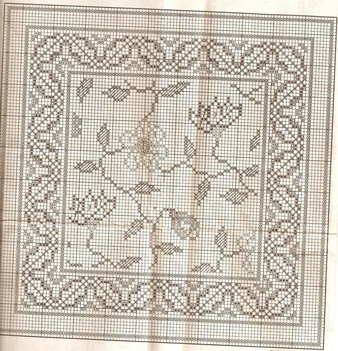 Подушки схемы орнаментом вышивка крестом