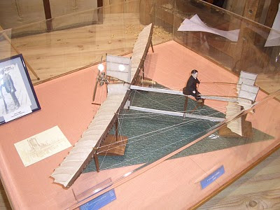 Model of Fabre's Hydravion