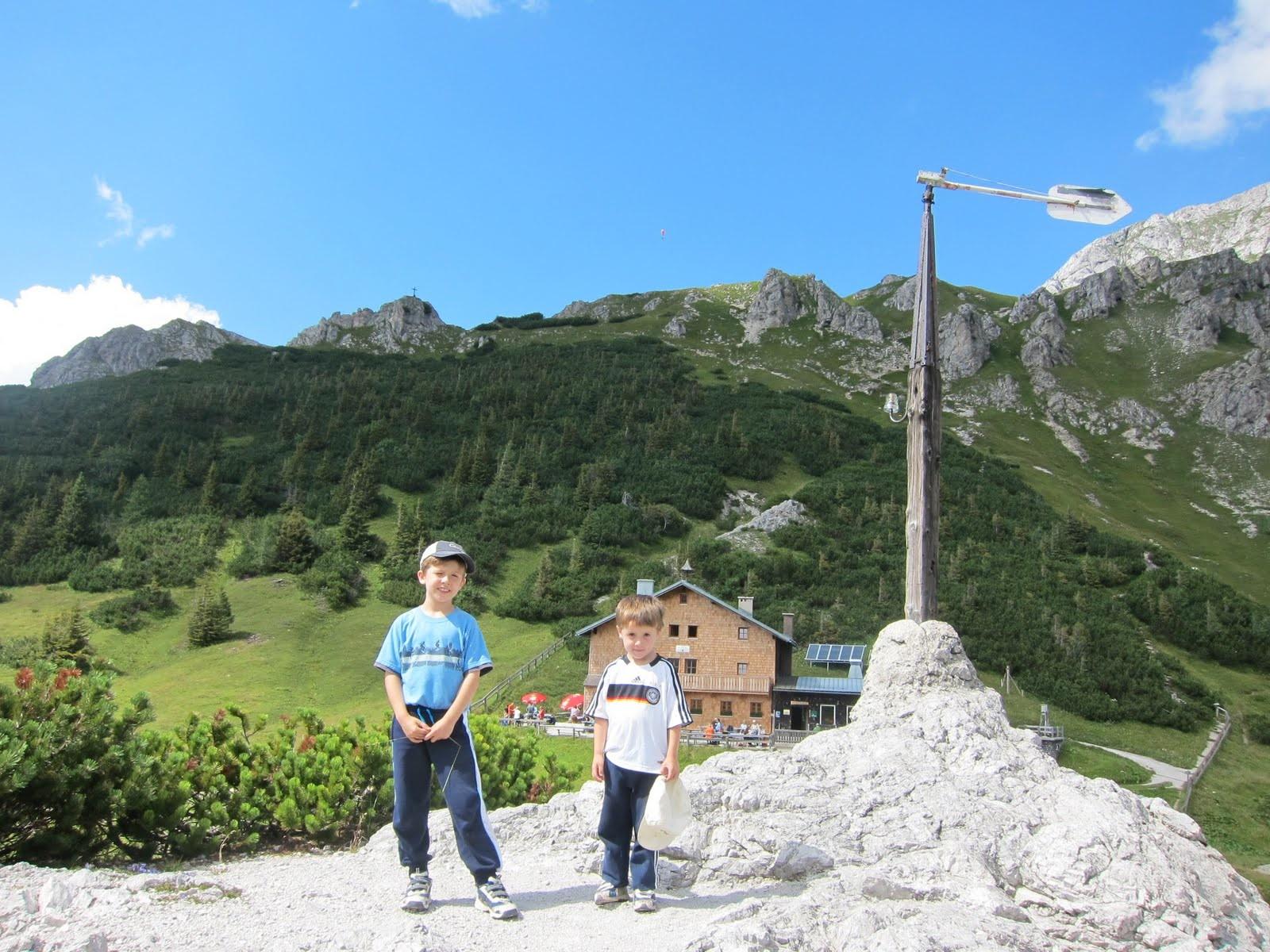 Reisegeschichten 2010: Mountain hiking tour around Jenner ...