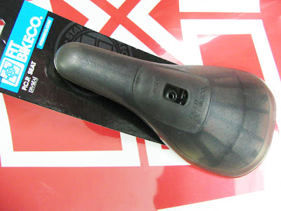 BMX Race Seat Light Weight Pivotal P.C.P. Clear
