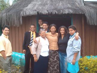Em frente à Igreja Indígena - Bahia