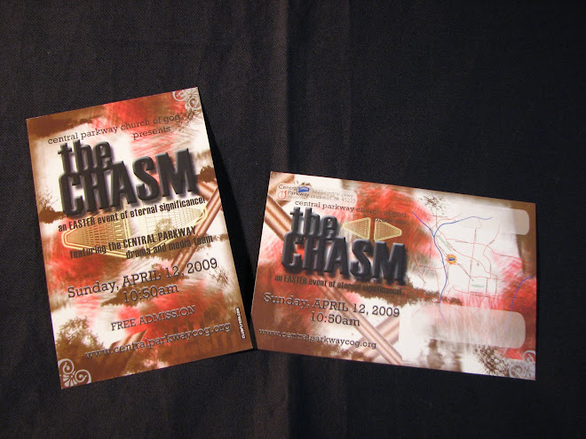 The Chasm Mailing Postcard