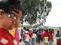 En Chincha en una campaña de Educación Sanitaria