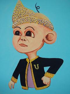 Pelukis mural shah alam kartun upin ipin the geng 2 for Mural kartun