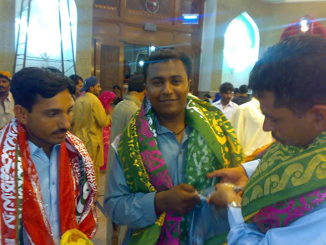 faiz baloch, Rao Shahzad And Shahzad Pathan in LAL QALANDER  SEHWAN