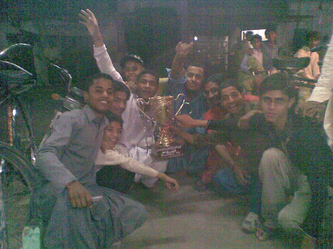 All boys are Enjoying winning celebretion