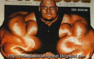 world's biggest steroid man