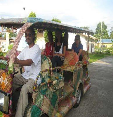 Mobil Unik Dari Filipina, Mobil Bambu Ramah Lingkungan