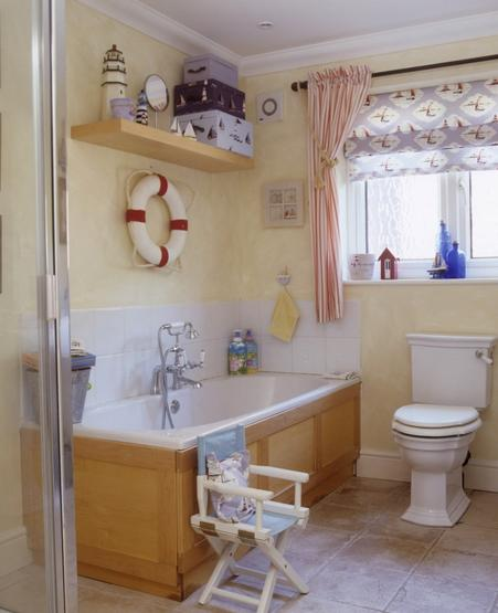 Nautical Decor Bathroom