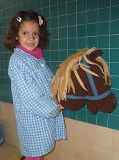 El cavall de pal de la Maria