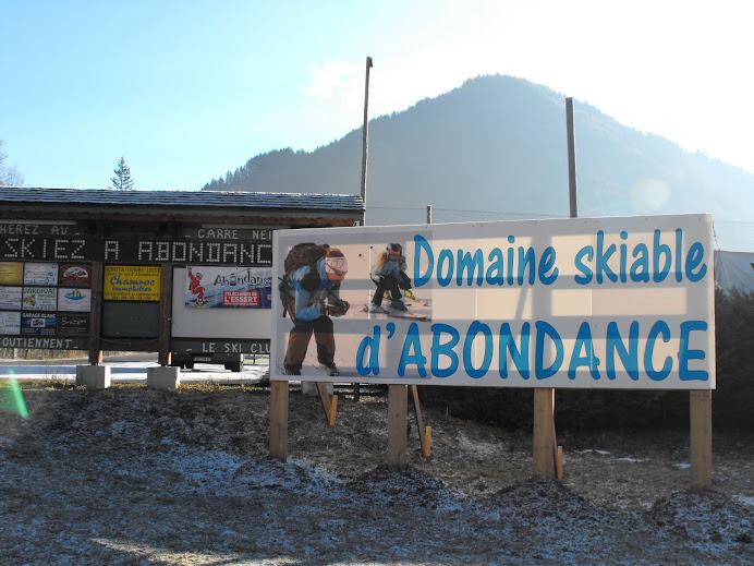 ABONDANCE STATION FAMILIALE DE SKI
