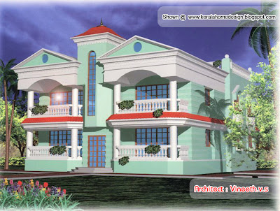 Nice house designs by Vineeth.v.s - Kerala home design and floor plans