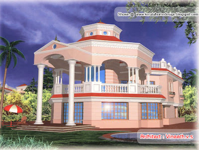 Home Design Plans on Designs By Vineeth V S   Kerala Home Design   Architecture House Plans