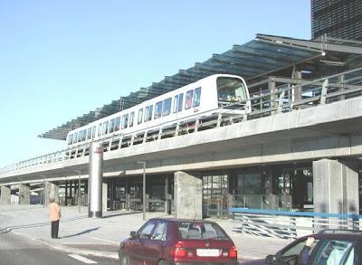 Kochi metro rail project model