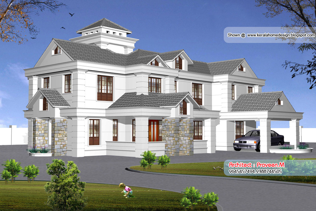 Kerala Style Home Elevations
