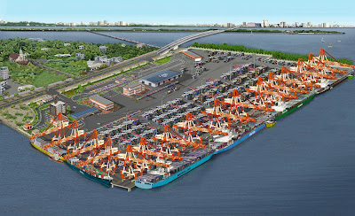 Vallarpadam International Container Transhipment Terminal - Large Image