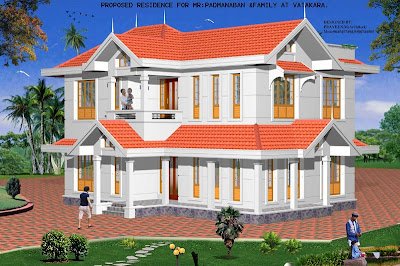 House Plans Design on By Architect Praveen M   Kerala Home Design   Architecture House Plans