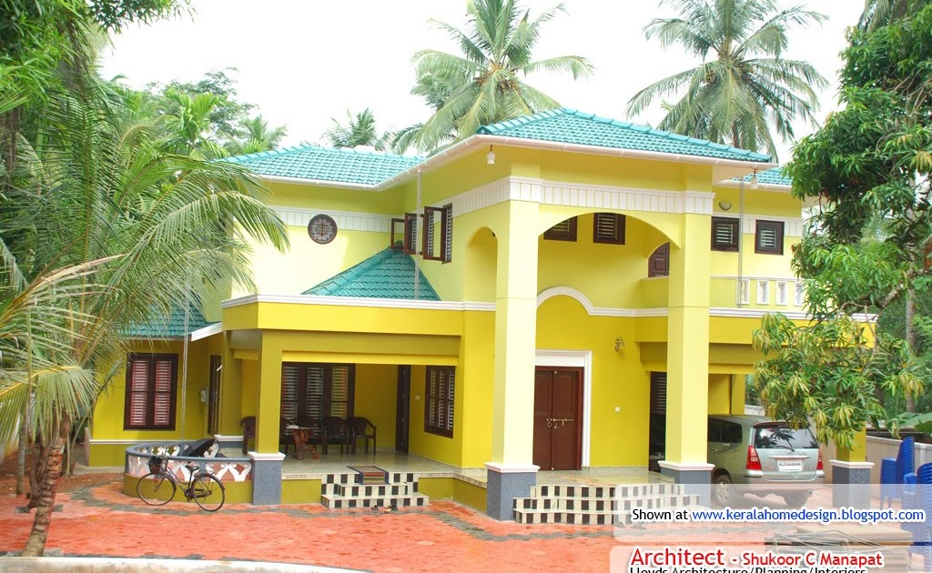 Kerala home design plan and elevation for Khd home elevation