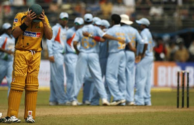 One Day International Cricket - India vs Australia, October 17, 2010