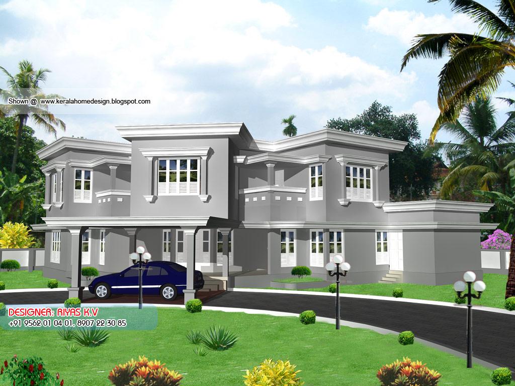 Free super luxury home plans kerala joy studio design for Free luxury home images