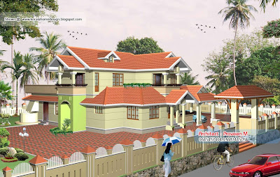 Kerala Style Homes - 2607 Sq. Ft