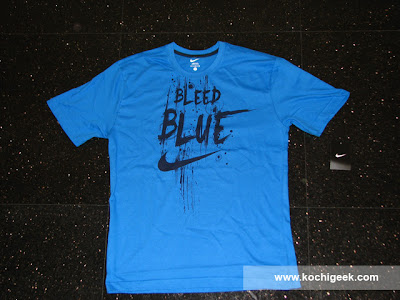 free nike bleed blue t shirt with every ODI ticket