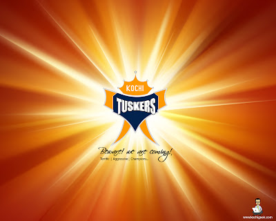 Kerala Tuskers - IPl Logo for Kerala IPL team
